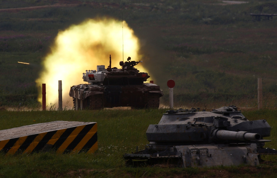 Tank biathlon news