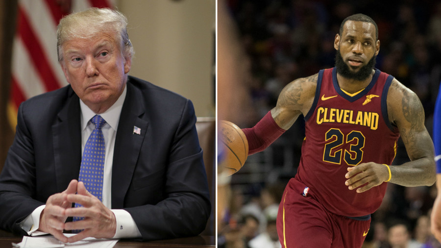 Trump mocks LeBron James in Twitter rant over CNN interview