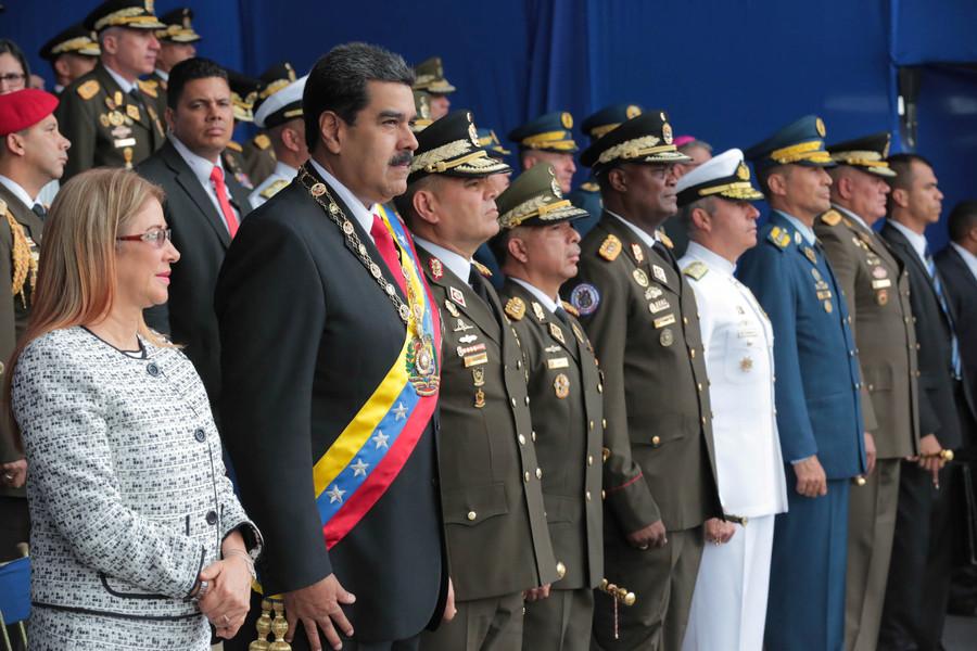 In post-attack speech, Venezuela's Maduro blames 'ultra-right' & Colombia