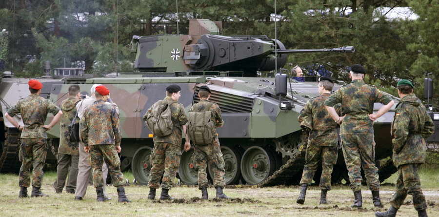 Short sighted? Germany's state of the art Puma tank not suitable for tall soldiers