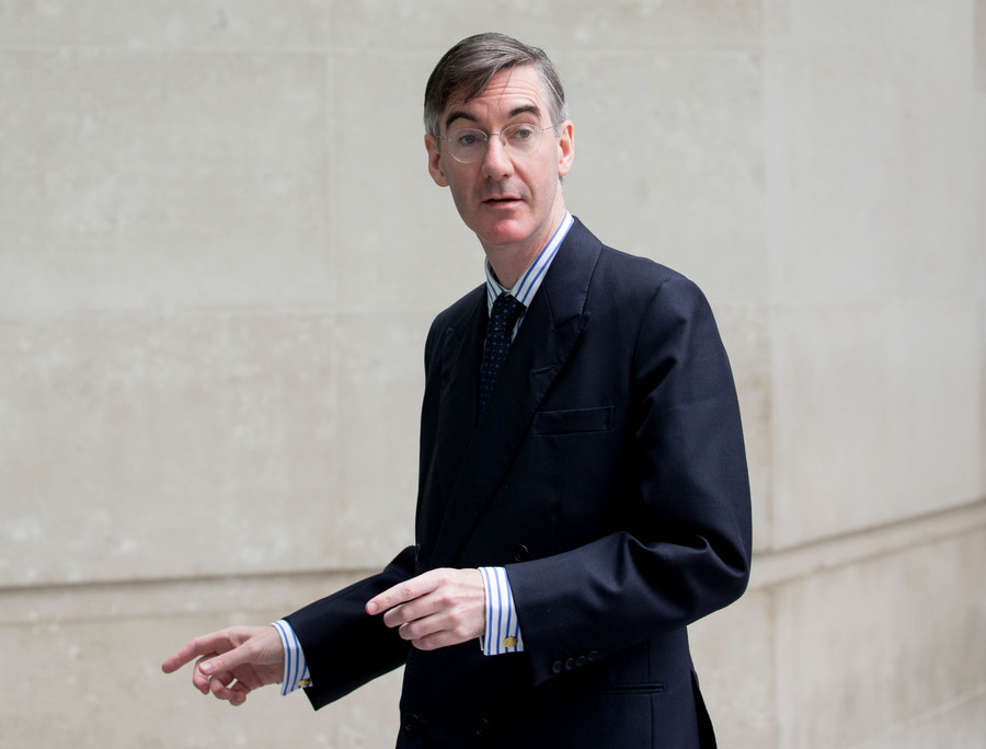 'Posh scum' and sex toy: Vandals strike at Tory MP Jacob Rees Mogg's home - reports
