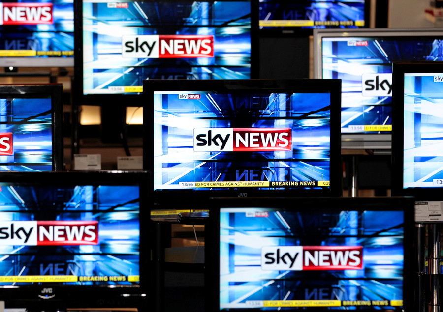 'This isn't censorship': Sky News suspends program after interview with anti-immigration activist