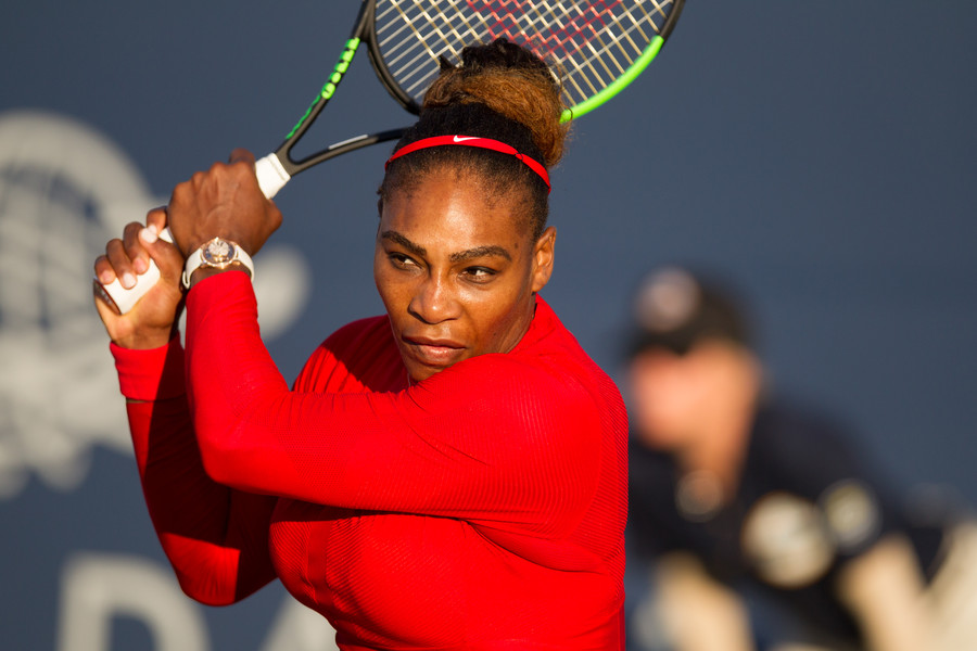 'I was intimidated by Serena, she is so big' – world number 1 tennis player on Williams