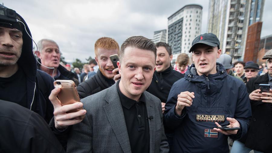 Tommy Robinson's page removed from Instagram