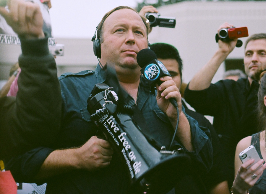 Who'll host Alex Jones? Porn sites enter the infowars