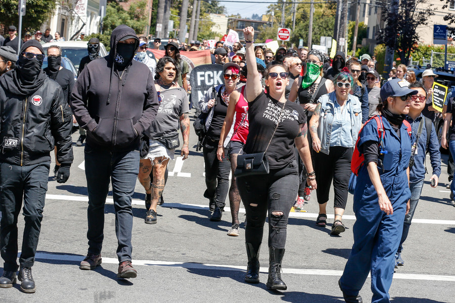 'Antifa' unmasked: Berkeley police criticized for tweeting mugshots of activists