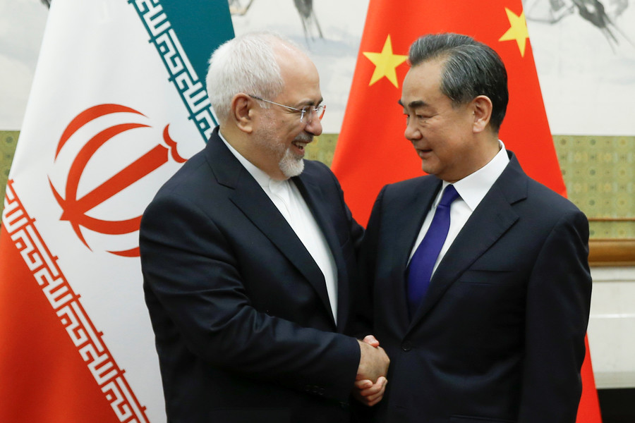 China vows to maintain trade with Iran, ignoring 'with us or against us' threats from US