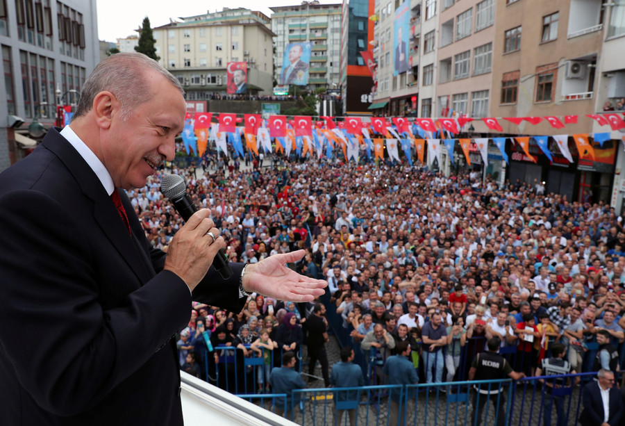 'We'll get new friends': Upset Erdogan lashes out at US in speech and article in US paper