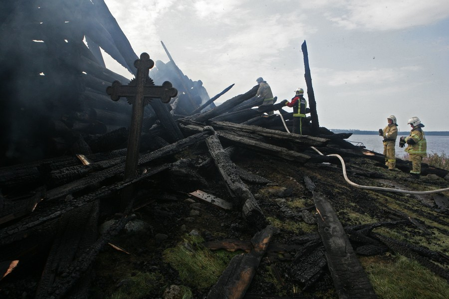 Russian lawmakers seek to fast track anti-vandalism bill after 'Satanic' church arson