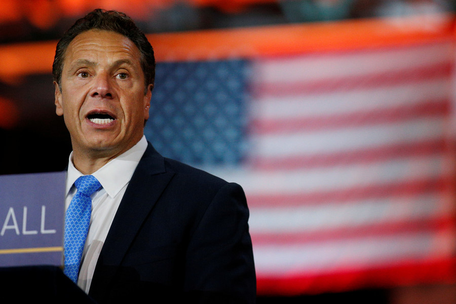 'America was never that great': NY governor bashes his own country to get at Trump
