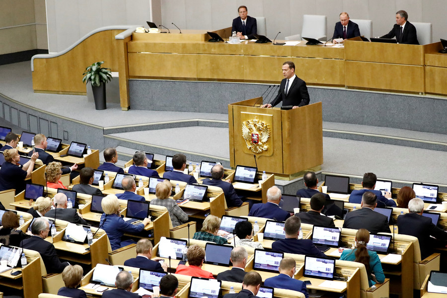 Russian lawmakers news
