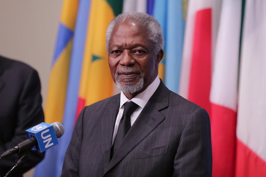 Former UN chief and Nobel Peace Prize winner Kofi Annan dies at 80