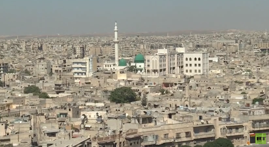 Syria's Aleppo rebuilding & getting its industry back on track (VIDEO)