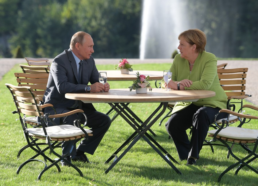 Iran deal, Syrian crisis & Nord Stream 2: Putin, Merkel find common ground on tough intl issues