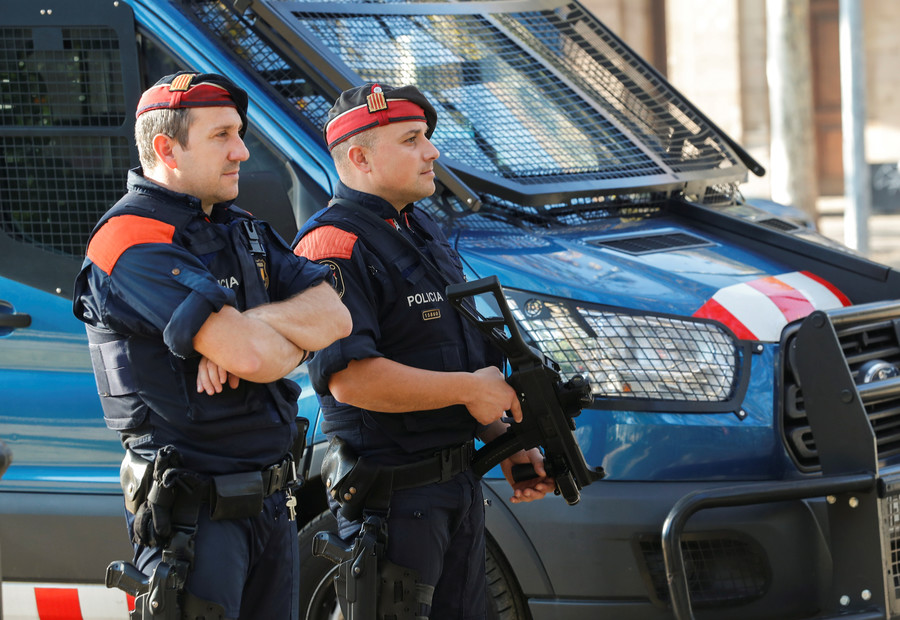 Attack on police station in Catalonia investigated as a terrorist act