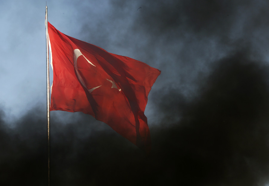 Turkey's Erdogan says attack on economy no different from attack on flag amid US pressure