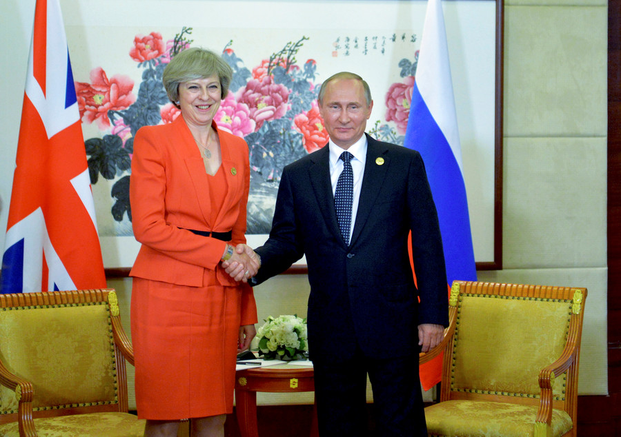 Russia-UK news