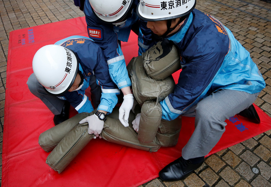2 Japanese nuclear plants hold simultaneous tsunami & multiple meltdown drills