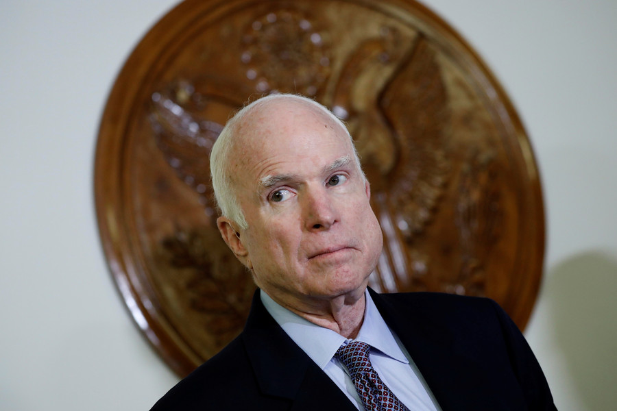Senator John McCain dies of brain cancer aged 81