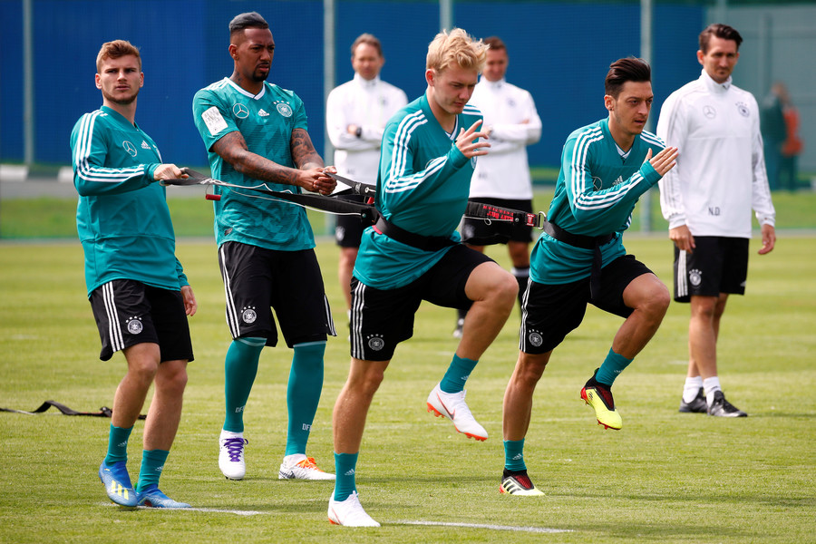 'Wogs' & 'potatoes': Ozil revealed as part of German World Cup training bust-up