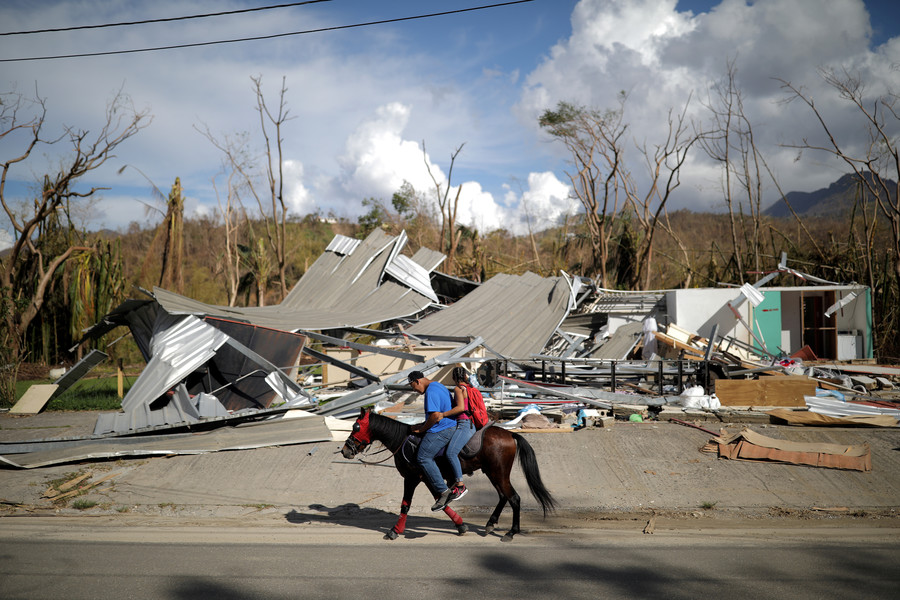 Puerto Rico raises death toll of Hurricane Maria to 2,975 from initial 64