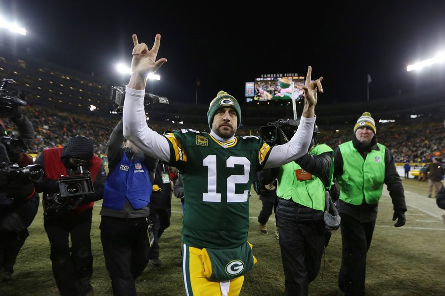 Aaron Rodgers to become highest-paid player in NFL history in deal worth potential $180mn
