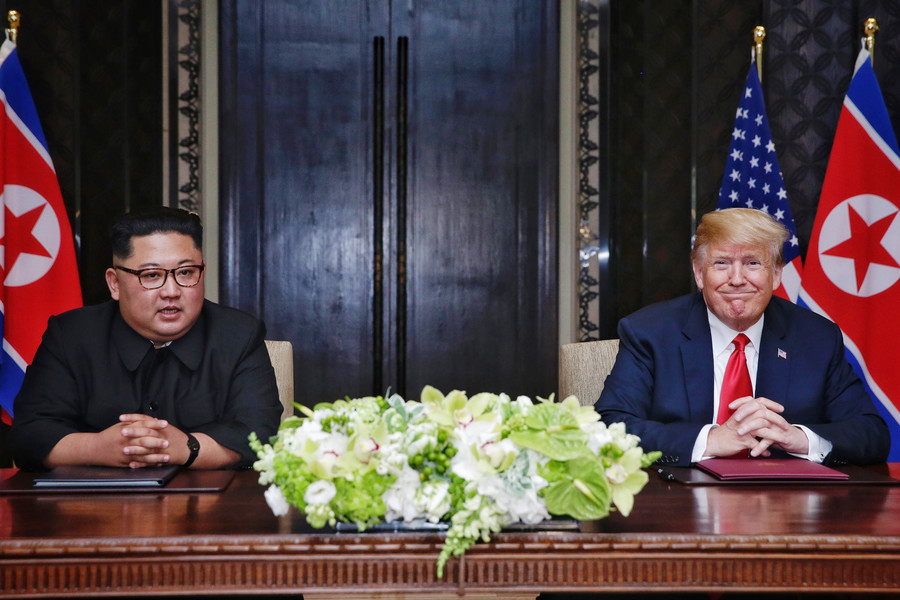China hits back at Trump's 'absurd logic' on N. Korea denuclearization