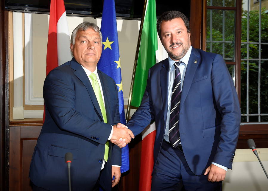 Macron in 'suicidal position' in battle against Salvini & Orban on EU migration policy