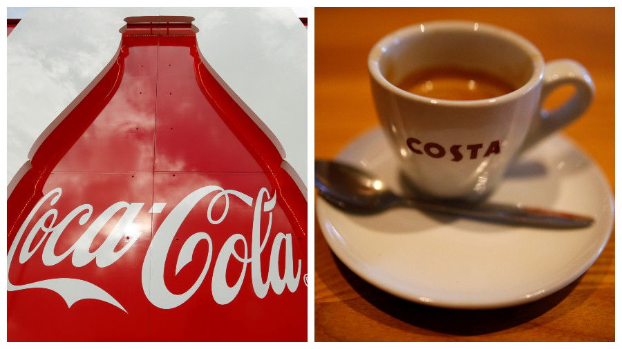 Bitter taste? 'Tax dodging' Coca-Cola buys Costa, Britain's largest coffee-shop chain, for £3.9bn