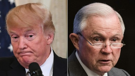 Donald Trump and Jeff Sessions © Nicholas Kamm, Saul Loeb