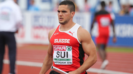 Swiss sprinter banned from European Championships over 'racist' Facebook posts