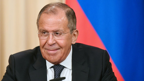Russian Foreign Minister Sergey Lavrov. May 2018 © Grigoriy Sisoev
