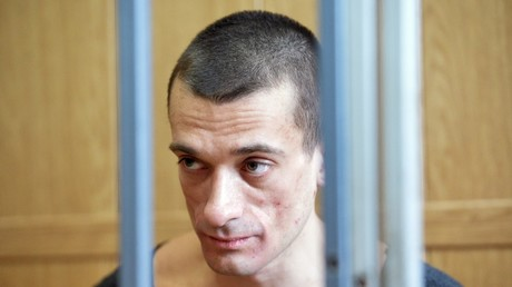 Self-exiled Russian performer placed 'in disciplinary cell' at French prison