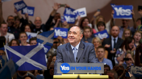 'Something smells rotten at BBC': Salmond accuses Beeb of anti-Scottish independence bias (VIDEO)
