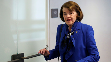 Senator Dianne Feinstein (D-California) May 16, 2018. © Joshua Roberts