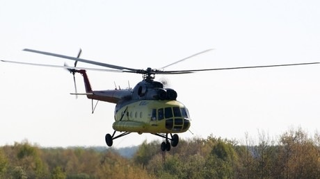 FILE PHOTO: A Mi-8 helicopter © Utair airline
