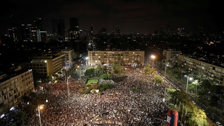 Mass protest in Israel over 'discriminating' nation-state law