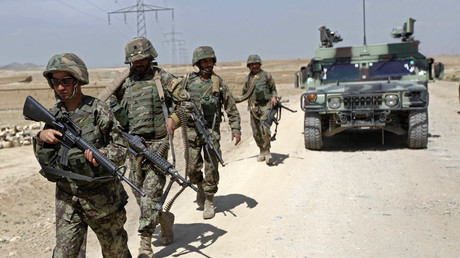 5b66bf55fc7e9331508b461b 3 NATO servicemen killed in Taliban suicide attack on convoy in Afghanistan