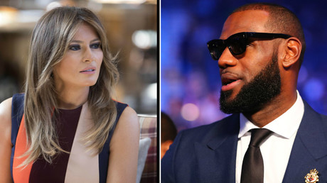 'Working to do good things': Melania Trump offers support to LeBron James after jibe from husband