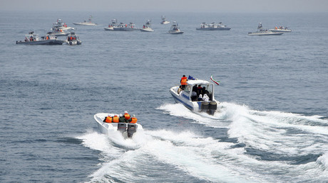 'Confronting possible enemies': Iran's Revolutionary Guards admit holding Gulf naval war games