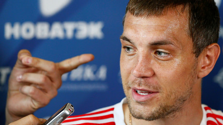 Driving force: Russia World Cup hero Dzyuba becomes voice of GPS navigator