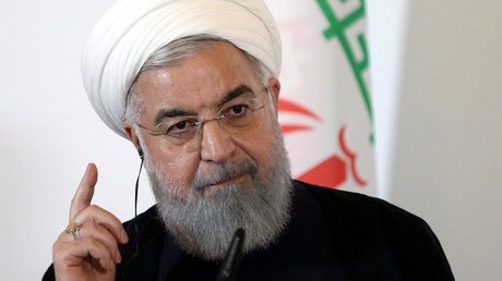 Rouhani blasts Trump's 'psychological warfare' as Iran braces for US sanctions