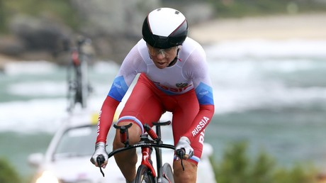 Russian cyclist to change citizenship over Olympic ban fears