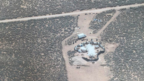 Siraj ibn Wahhaj's compound in New Mexico © Taos County Sheriff's Office