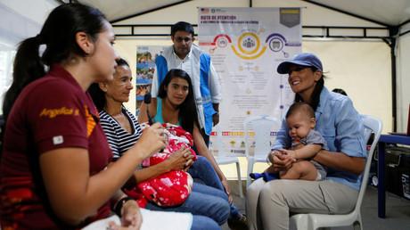 Haley hands $9mn to Venezuelan refugees, raises regime change days after attempt on Maduro's life