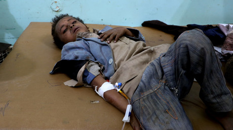 50 dead, mostly kids, in Saudi-led coalition's 'legitimate' airstrike on Yemen bus