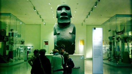 Easter Island people want return of their sacred statue, stolen by imperial Brits