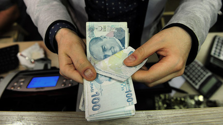 Turkish currency hit by perfect storm of US sanctions, tariffs & debt, plunges to historic low