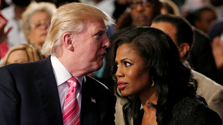 'She's a lowlife!' Trump explodes over former aide Omarosa's claims of his 'racist' rants