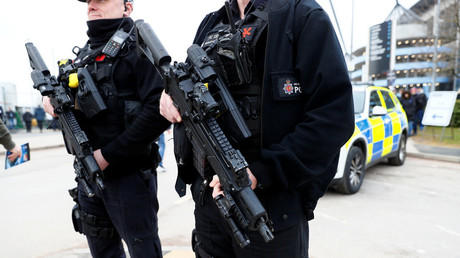 10 people, including children, in hospital after post-carnival Manchester shooting – police